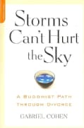 Storms Can't Hurt the Sky: A Buddhist Path Through Divorce (Paperback)