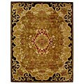 Safavieh Handmade Classic Juliette Gold Wool Rug (8'3 x 11')