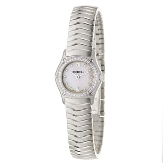 Ebel Classic Wave Women's Diamond Quartz Watch