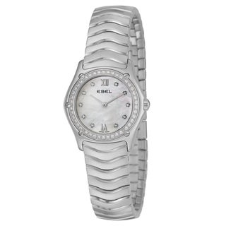 Ebel Classic Wave Women's Diamond Watch