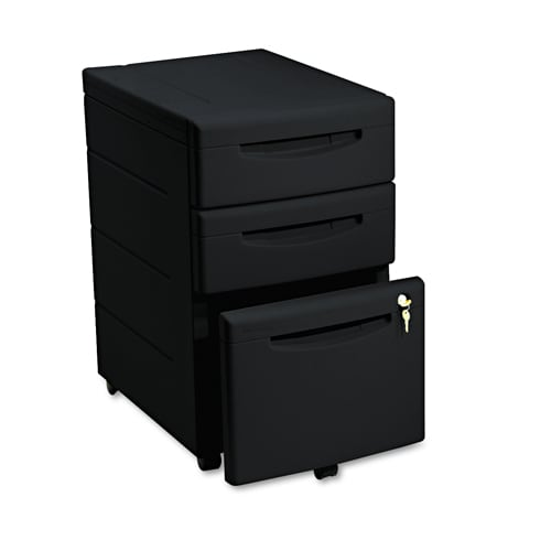 iceberg aspirat 3 drawer pedestal underdesk file cabinet 11106417 shopping. Black Bedroom Furniture Sets. Home Design Ideas