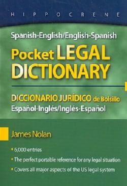 Spanish-English/English-Spanish Pocket Legal Dictionary (Paperback)