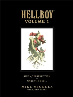 Hellboy Library Edition Vol. 1: Seed of Destruction and Wake the Devil (Hardcover)