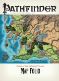 Pathfinder Chronicles Curse of the Crimson Throne Map Folio (Paperback)