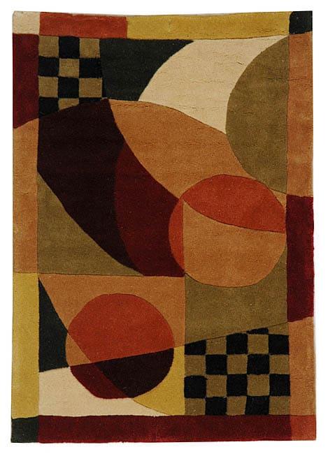 Safavieh Handmade Museum Burgundy/ Multi N. Z. Wool Rug (2' x 3')