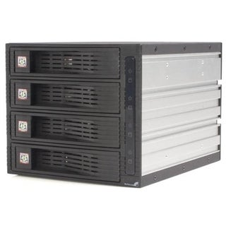 StarTech.com 4 Drive 3.5in Trayless Hot Swap SATA Mobile Rack Backpla