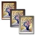Claude Monet 'Vase of Flowers' Framed Canvas Art