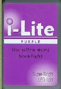 I-lite Purple: The Ultra-mini Booklight (General merchandise)