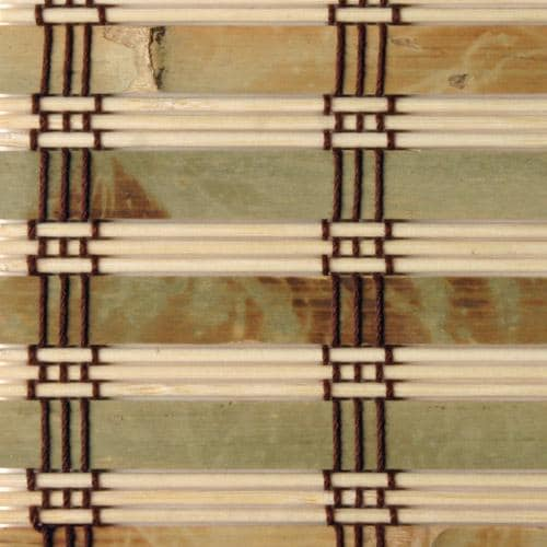 Rustique Bamboo Roman Shade (35 in. x 54 in.)