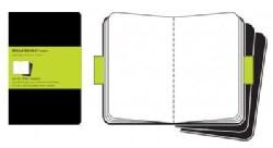 Moleskine Cahier: Black Journal Extra Large, Set of 3 (Notebook / blank book)