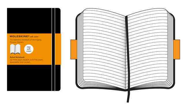 Moleskine Ruled Notebook Extra Large (Notebook / blank book)