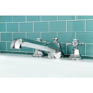 Metropolitan Chrome Roman Tub Filler
