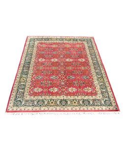 Indian Agra Hand-knotted Rug (9' x 12')