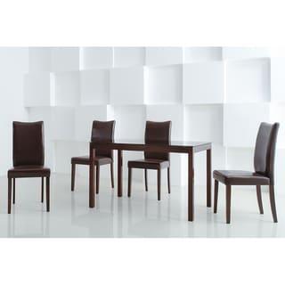 Shino Light Cappuccino 5-piece Dining Furniture Set