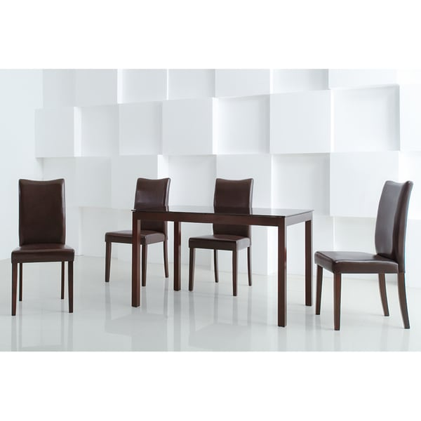 Shino Light Cappuccino 5-piece Dining Furniture Set