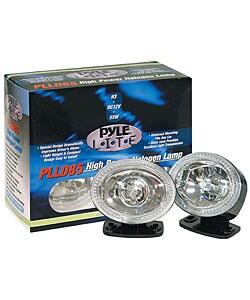 Pyle High Power White Halogen Lamp Set
