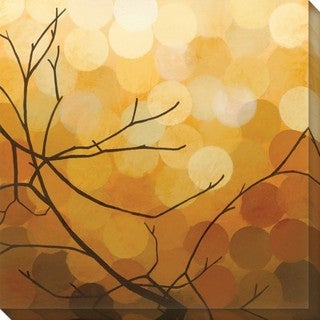 Sean Jacobs 'Autumn Shade II' Wrapped Canvas Art