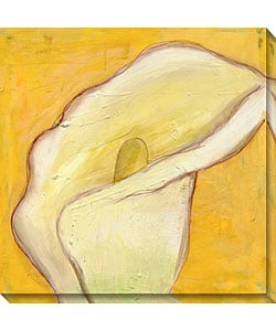 Calla Lily on Gold I Gallery Wrapped Canvas Art