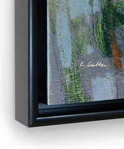 Leslie Saris 'Forgotten Moment I' Framed Canvas Art