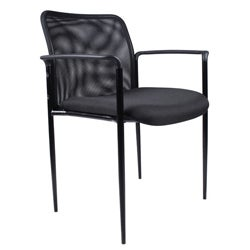 Boss Contemporary Mesh Stacking Chair