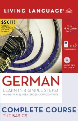German: Learn in 4 Simple Steps! Words-Phrases-Sentences-Conversations