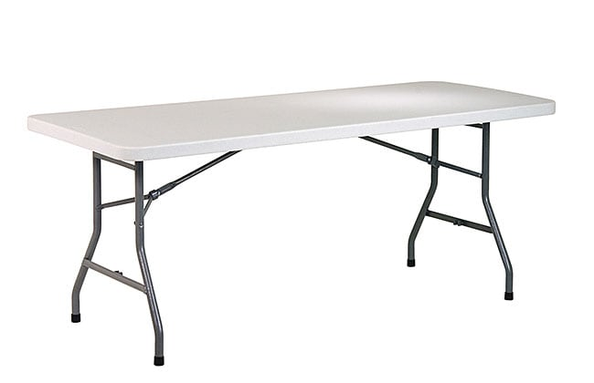 Office Star 6-foot Resin Multi-purpose Table