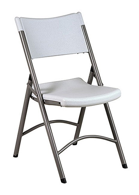 fice Star Lightweight Folding Resin Chair Set of 4