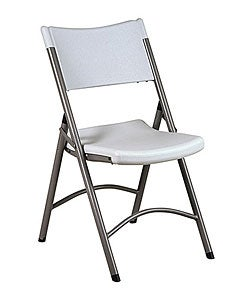 Office Star Lightweight Folding Resin Chair (Set of 4)