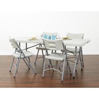 Office Star Lightweight Folding Resin Chair (Set of 4)