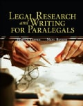 Legal Research & Writing for Paralegals (Paperback)