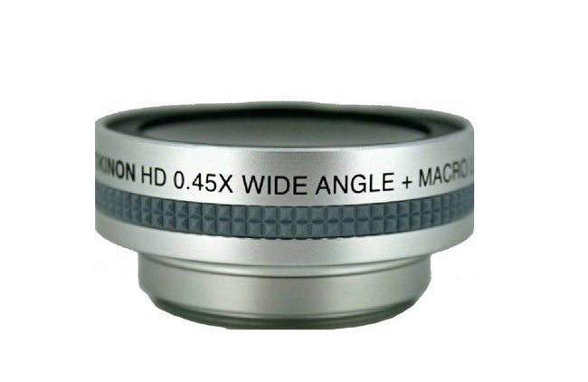 Rokinon .45x Wide Angle 52mm Lens with Macro