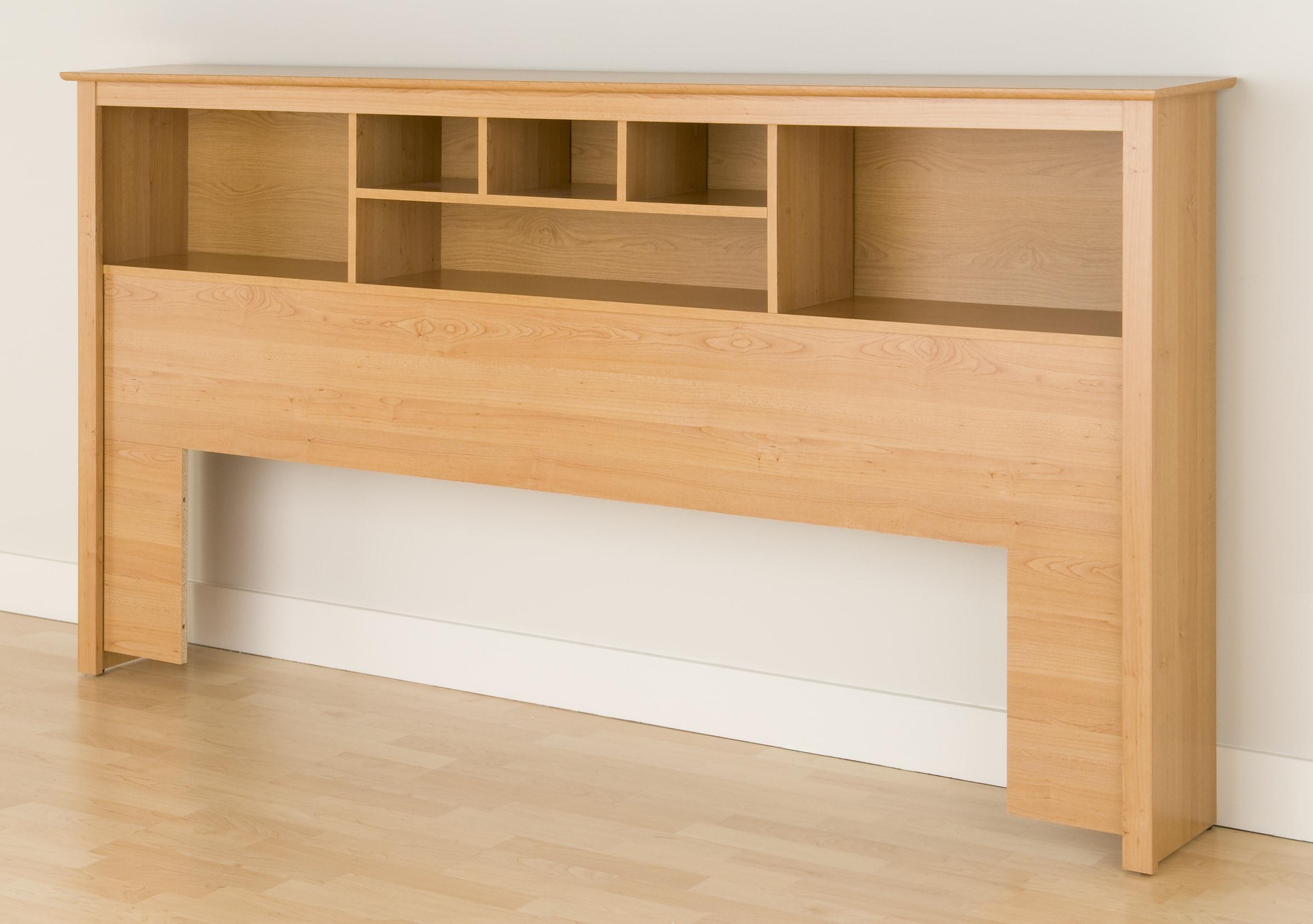 montego maple king bookcase headboard 11127143 shopping big discounts on. Black Bedroom Furniture Sets. Home Design Ideas
