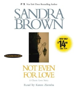 Not Even for Love (CD-Audio)