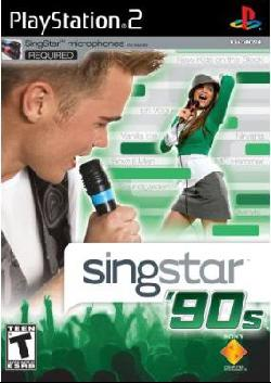 PS2 - Singstar 90's (Software Only)