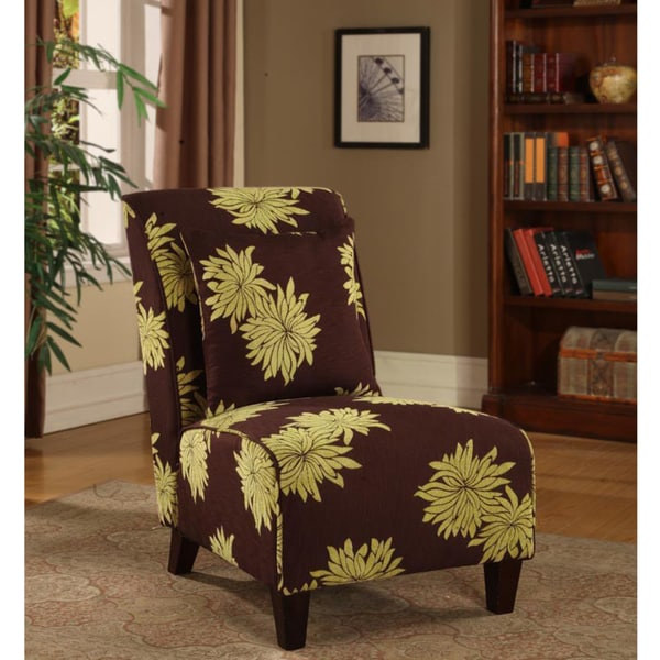 Tapered Chair Lime Blooms
