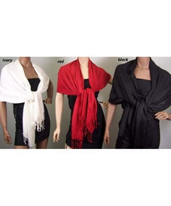 Super Soft Solid Viscose Faux Pashmina (3 Pack)