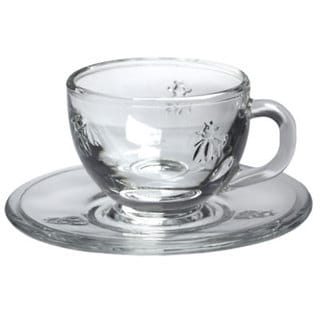 La Rochere Bee Espresso Cup & Saucer (Case of 6)