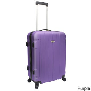 Traveler's Choice Rome 24-inch Hardside Spinner Upright Suitcase