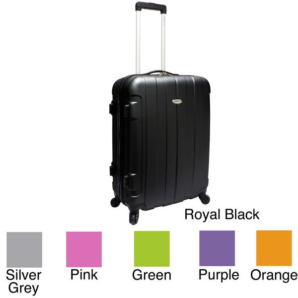 Traveler's Choice Rome 24-inch Medium Hardside Spinner Upright Suitcase
