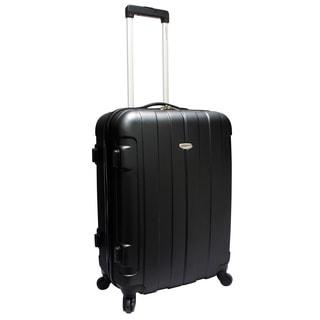 "Traveler's Choice Rome - Maleta vertical, ruedas giratorias, laterales rígidos, 24"""
