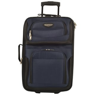 Travel Select by Traveler&#39;s Choice TS6950 Amsterdam 21-inch Lightweight Carry On Upright Suitcase