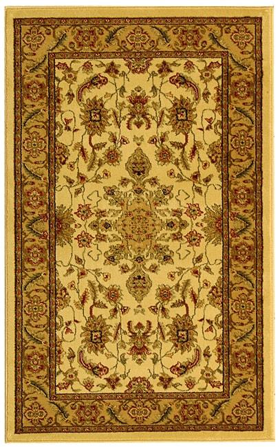 Safavieh Lyndhurst Collection Ohsak Ivory/ Tan Rug (3'3 x 5'3)