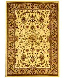 Safavieh Lyndhurst Collection Ohsak Ivory/ Tan Rug (5'3 x 7'6)