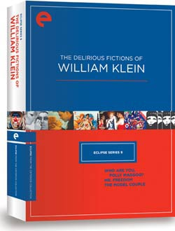 Eclipse Series 9 - The Delirious Fictions of William Klein (DVD)
