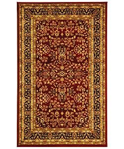 Safavieh Lyndhurst Collection Persian Treasure Red/ Black Rug (3'3 x 5'3)