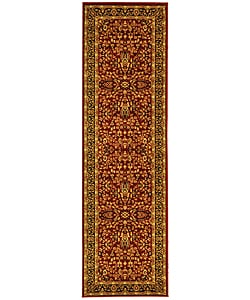 Safavieh Lyndhurst Persian Treasure Red/ Black Runner (2'3 x 8')