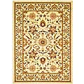 Safavieh Lyndhurst Collection Heritage Ivory/ Ivory Rug (5'3 x 7'6)