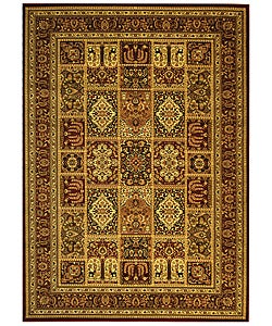 Safavieh Lyndhurst Collection Isfan Red/ Multi Rug (8' x 11')