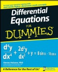 Differential Equations For Dummies (Paperback)