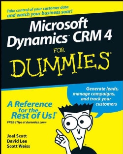Microsoft Dynamics CRM 4 For Dummies (Paperback)